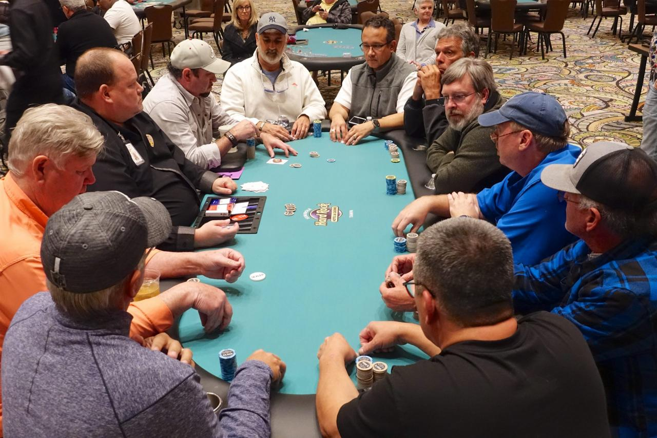 Event 12 - Seniors Final Table